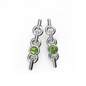 orecchino-cadena-1mod-peridoto